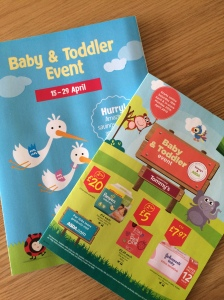 Tesco & ASDA baby events