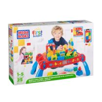 Mega Bloks First Builders Build N Learn Table Kiddicare