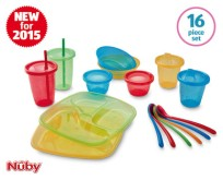 nuby baby mealtime travel set aldi specialbuy