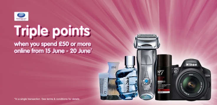 Boots Triple Points Event