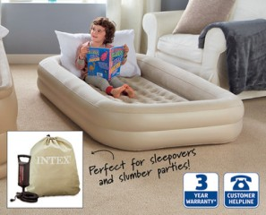 aldi travel bed