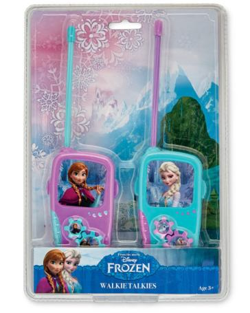 aldi Frozen-Licenced-walkie-talkies-A