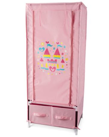 Aldi Girl's-Dress-Up-Storage-A