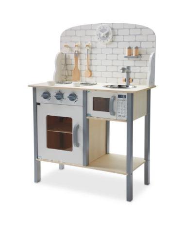aldi wooden kitchen